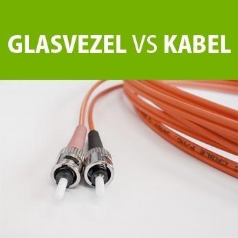 Wat zijn de verschillen tussen een glasvezelverbinding en kabelinternet?